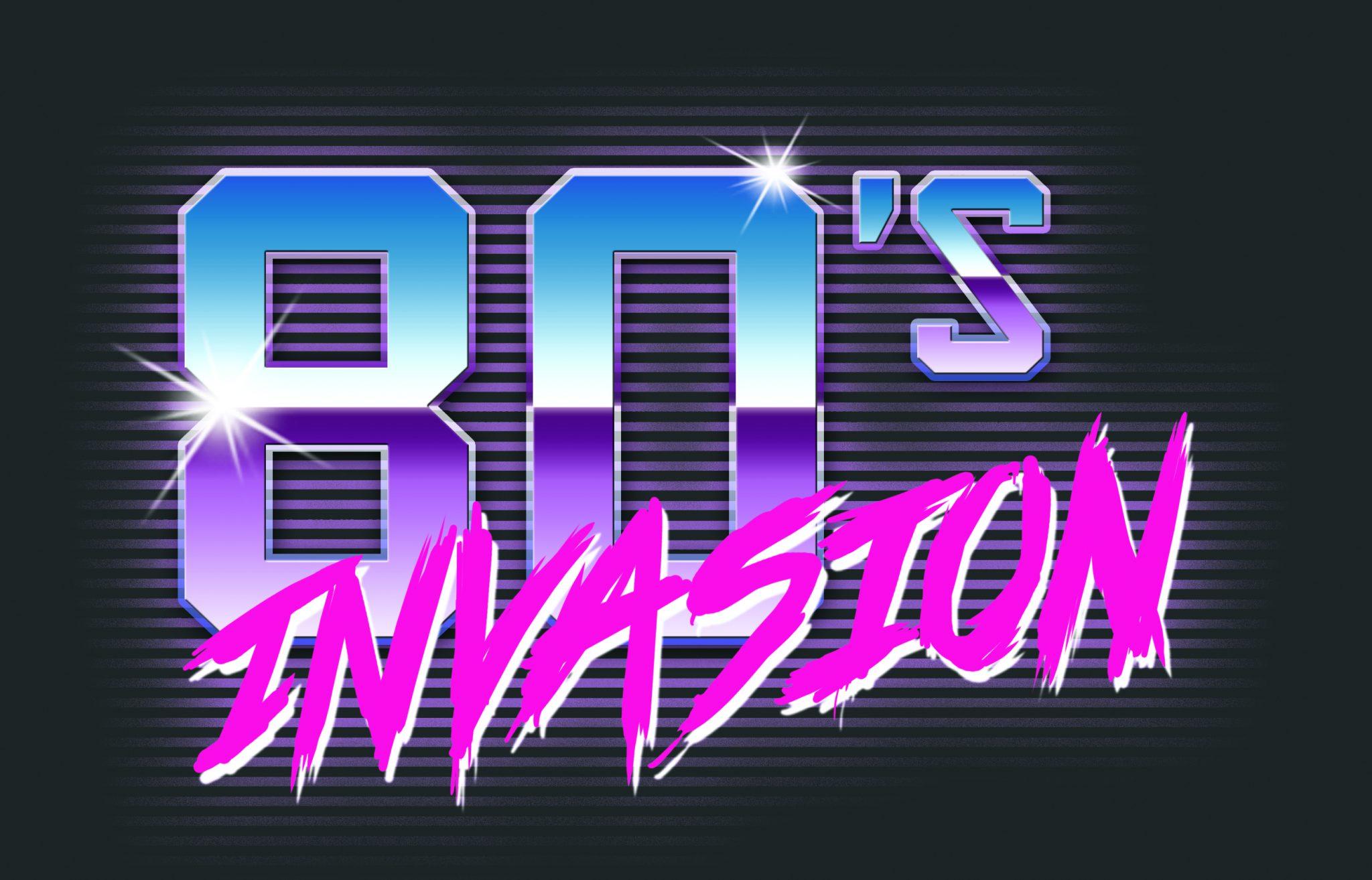 80's Invasion Logo 1