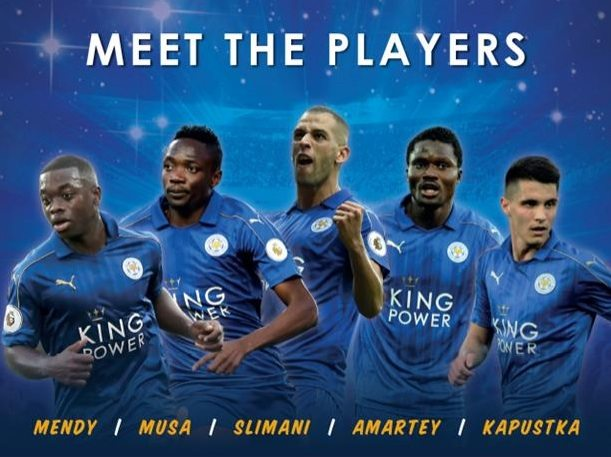 leicester city meet the players