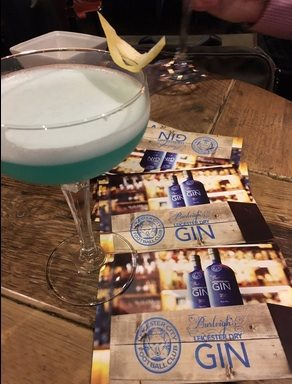 blue lady leicester city gin
