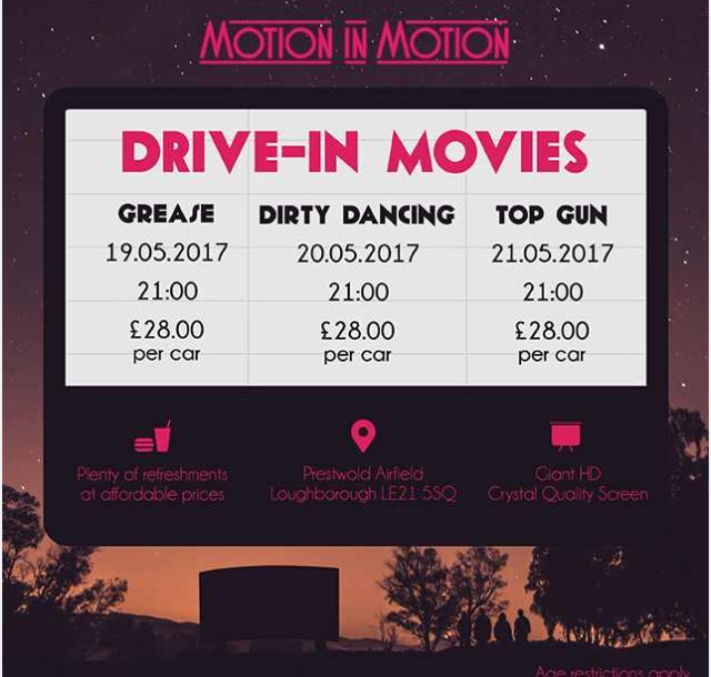drive in leicester