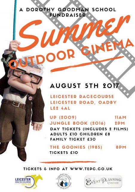 leicester racecourse outdoor cinema