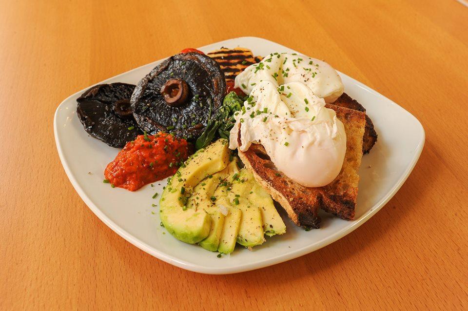 Delilah vegetarian breakfast Leicester