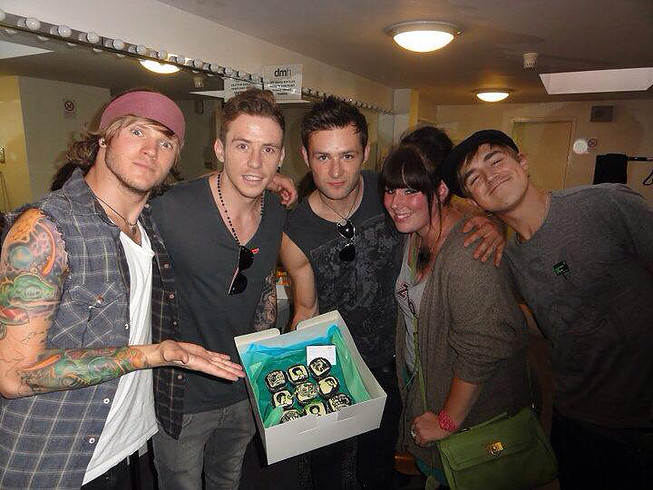 mcfly leicester cakes