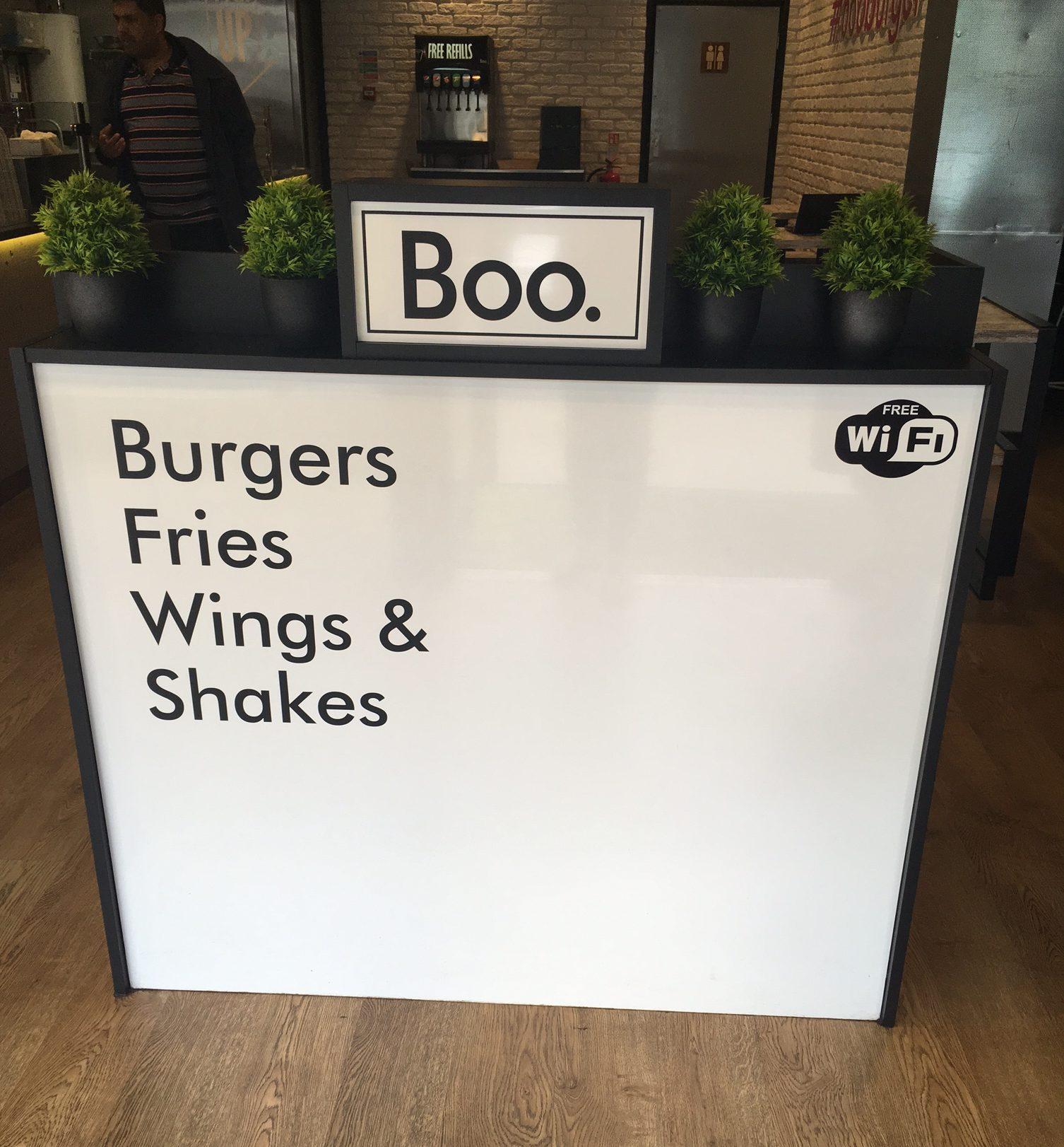 boo burger Leicester