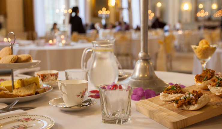 city rooms Indian afternoon tea