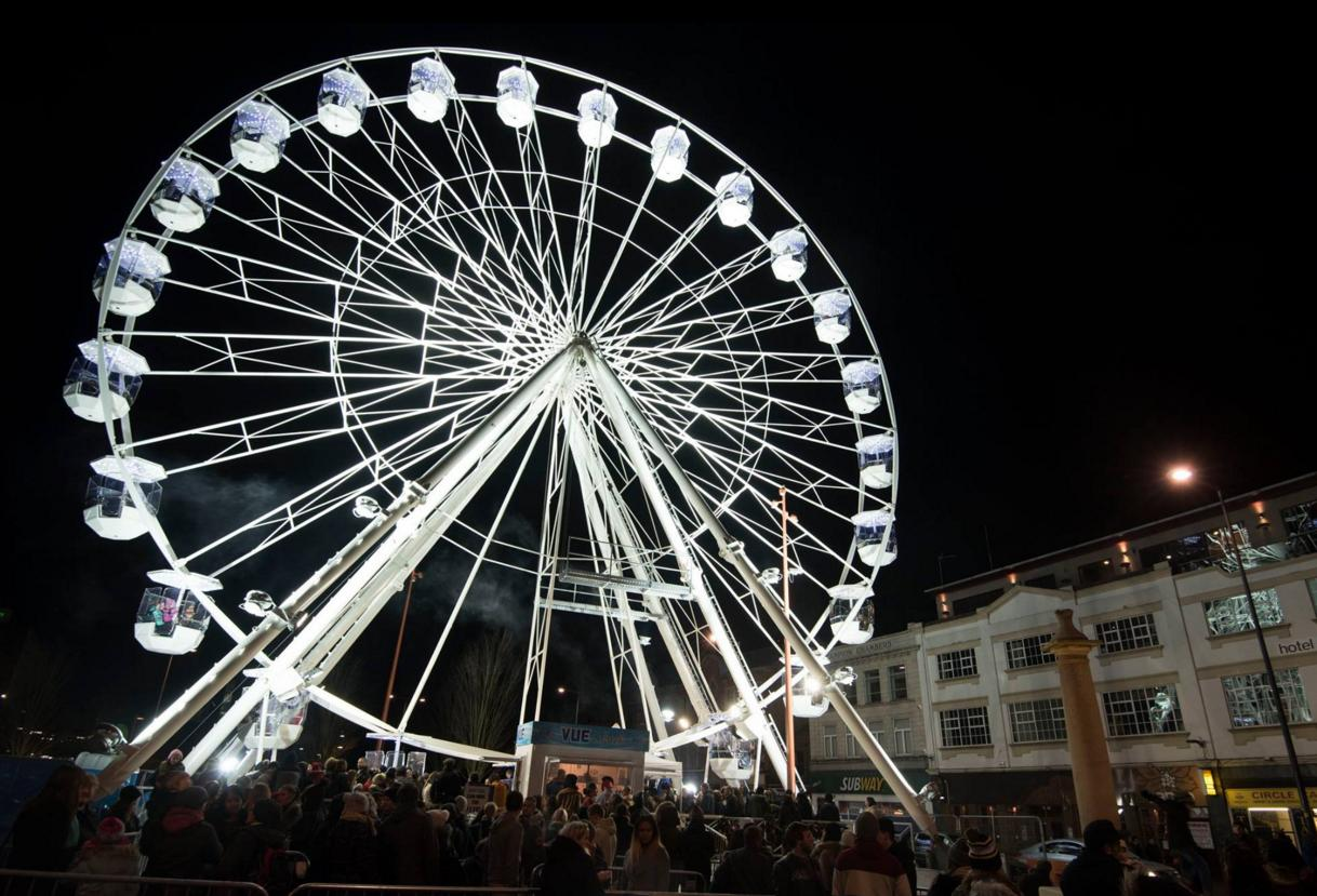 leicester Ferris wheel