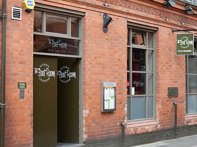 boot room restaurant Leicester