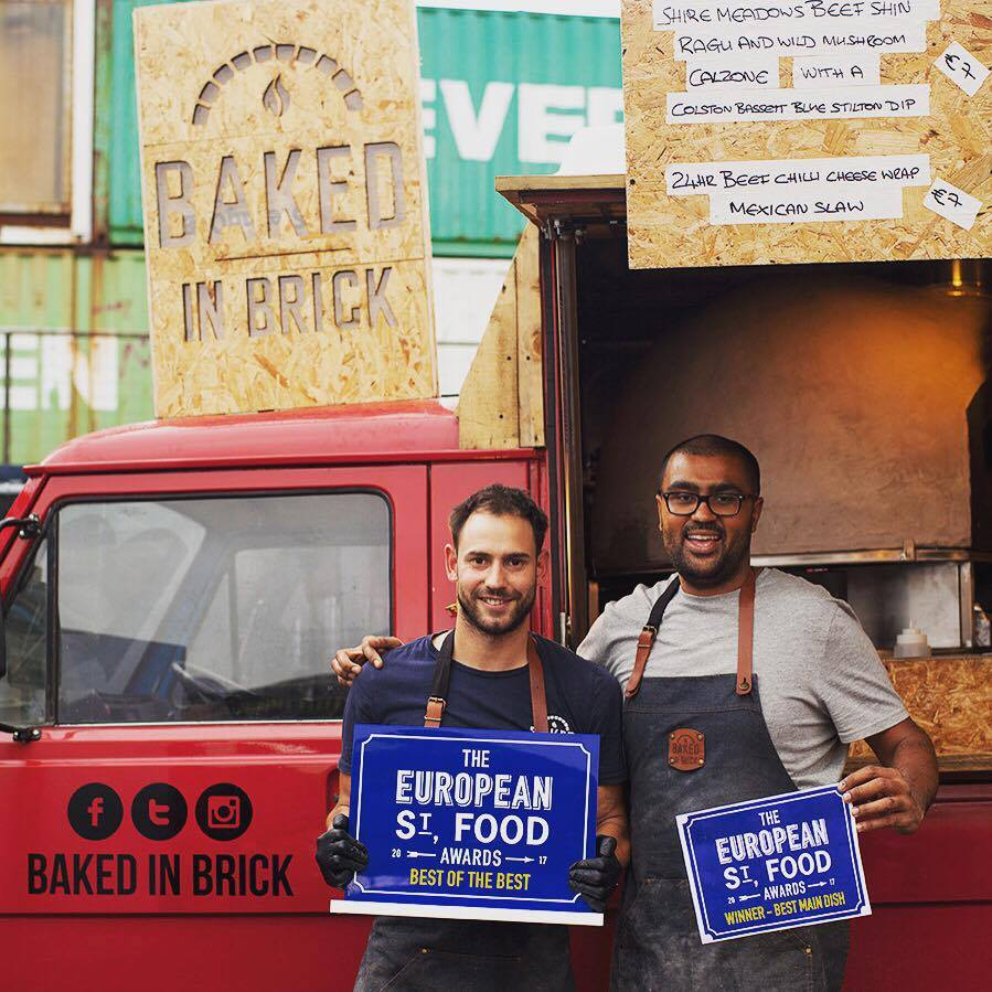 baked in brick European