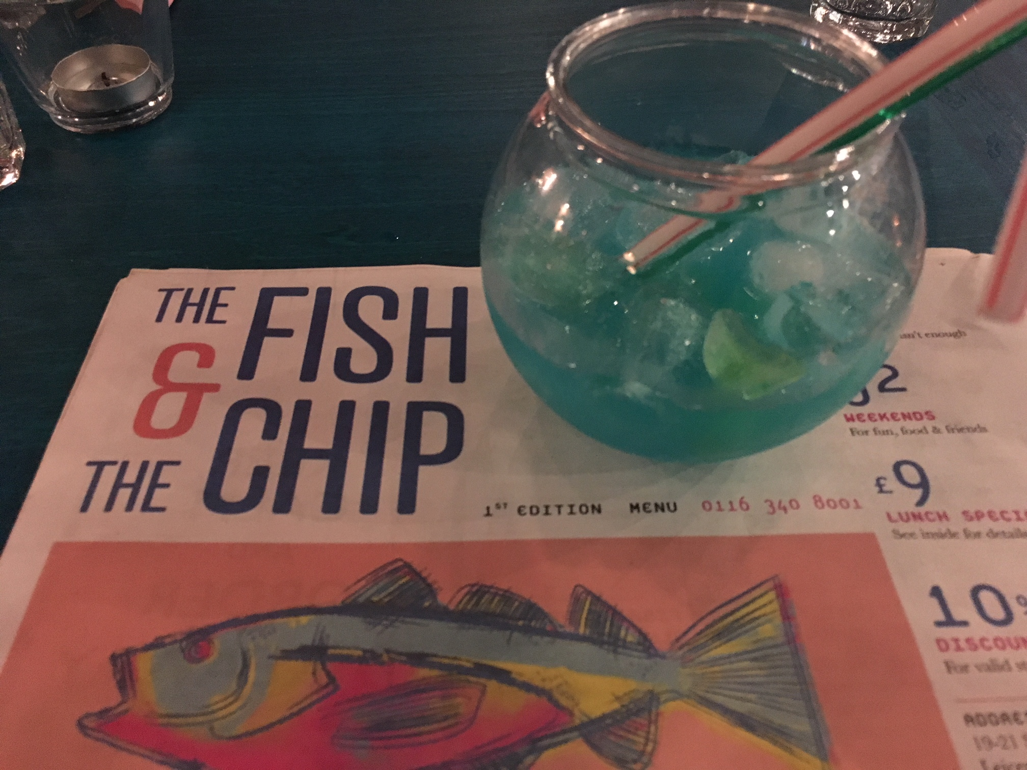 the fish & the chip Leicester